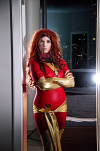 Analeigh Cosplay as Dark Phoenix