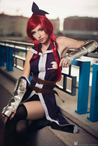 Megan Coffey as Erza Scarlet