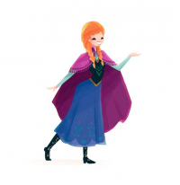 Anna of Arendelle from Chabe Escalante