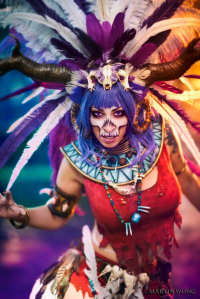 Vivid Vivka as Witch Doctor