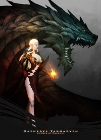 Daenerys Targaryen from Crimson-seal