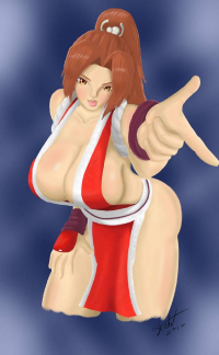 Mai Shiranui from Hahnt
