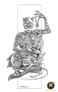 Catwoman from Harvey Montecillo Tolibao