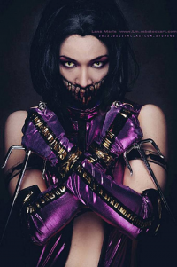 Lana Marie as Mileena