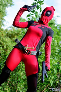 unknown artist as Deadpool