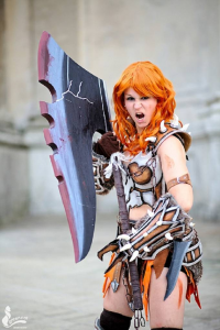 Lux Cosplay as Barbarian