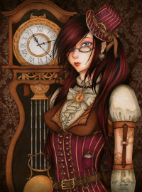 Steampunk from Sika-chan