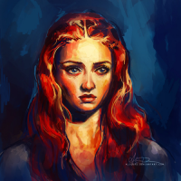 Sansa Stark from Alice X. Zhang