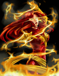 Dark Phoenix from Tiffany C.