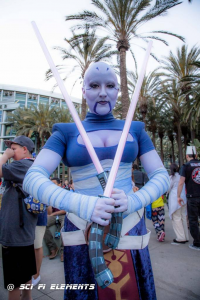 Hanimes Cosplay as Asajj Ventress