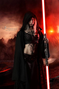 Archs Cosplay as Sith