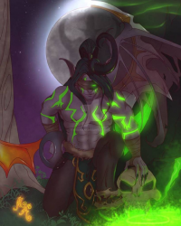 Illidan Stormrage from MischiArt