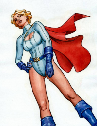 Power Girl from Hartmann71