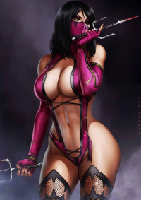 Mileena from Dandonfuga