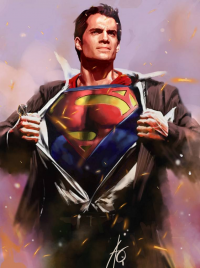 Superman from Rudy Ao
