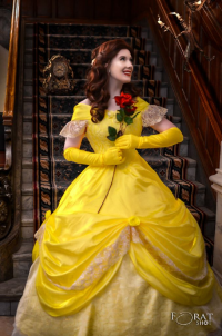 Miss Kay's Princess Parties & Events as Belle