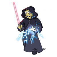 Darth Sidious/The Simpsons from Adrien Noterdaem