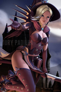 Mercy/Witch from Iury Padilha