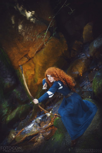 Shappi as Princess Merida