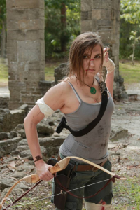 Dream_bane as Lara Croft