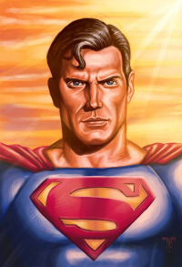 Superman from Amir Mohsin