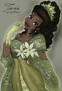 Princess Tiana from Cindy Brilliant