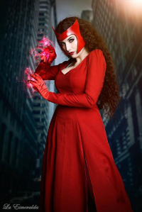 La Esmeralda as Scarlet Witch