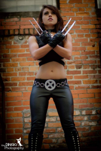 Colossal Smidgen Cosplay as X-23