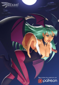 Morrigan Aensland from Exael-X