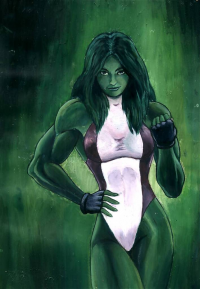 She-Hulk from Andrew Bayliss
