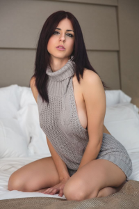 Juby Headshot as Virgin Killer Sweater