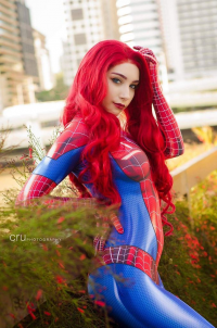 Beke Cosplay as Spider Girl/Mary Jane Watson