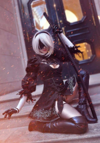 Arisa • アリサ Cosplayer as 2B