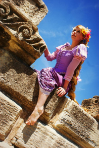 Lauren Marie Ewart as Princess Rapunzel