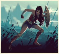 Wonder Woman from Leandrofranci