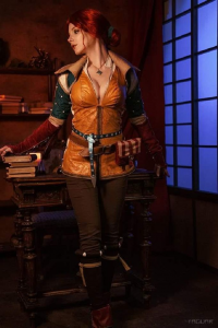 Reilin Cosplay as Triss Merigold/Witch