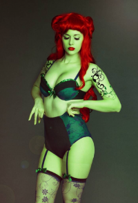 PureLight Cosplay as Poison Ivy