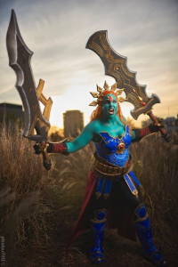 Emery Rose Cosplay as Ganondorf