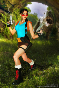 Daelyth as Lara Croft