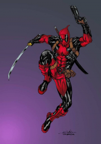 Deadpool from Tim Brown