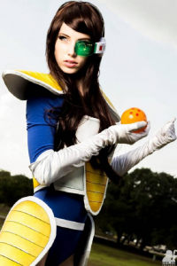 Megan Coffey as Vegeta