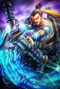Hanzo from Amir Mohsin