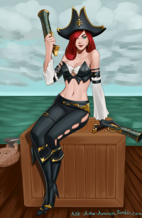 Miss Fortune from Ashe Avarosa