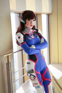 Miyuko Cosplayer as D.Va