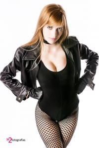 Agos Ashford Cosplay as Black Canary