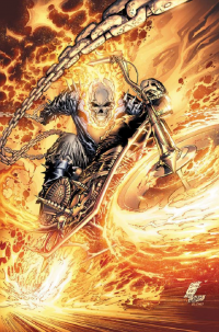 Ghost Rider from Blondthecolorist