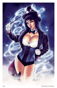 Zatanna from Elias Chatzoudis