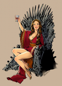Cersei Lannister from Andrew Tarusov