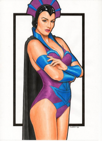 Evil-Lyn from Peter Cleary