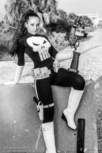 Amy Nicole as Punisher